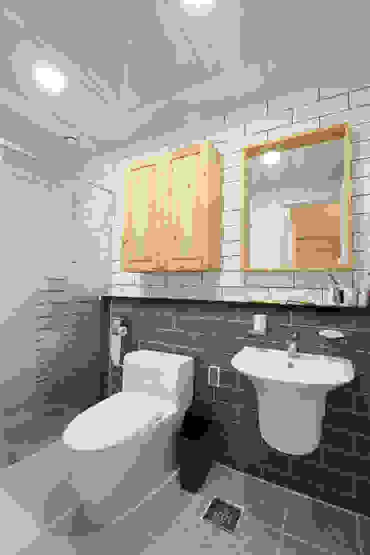 욕실 모던스타일 욕실 by 주택설계전문 디자인그룹 홈스타일토토 모던