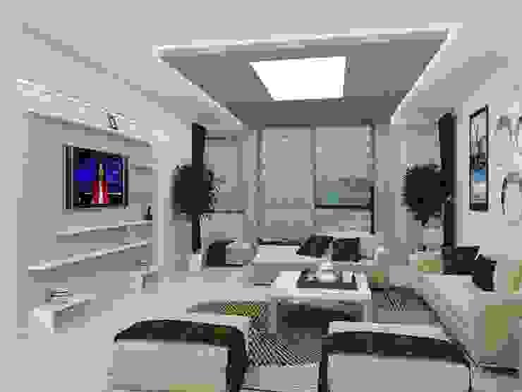salon Modern Evler Arslan iç mimarlık Modern