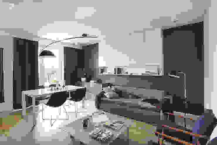 Livings de estilo clásico de Hubert Dziedzic Architektura Wnętrz Clásico