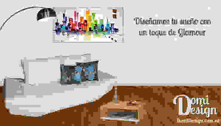 Diseñamos tu sueño con un toque de Glamour de Domi Design Moderno