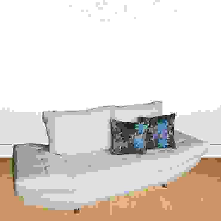 Sofá Modern de Domi Design Moderno Sintético Marrón