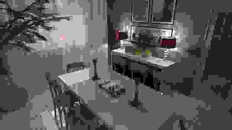 Sala de Jantar Salas de jantar campestres por Arquiteto Lucas Lincoln Campestre