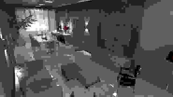 Sala de Estar Salas de estar campestres por Arquiteto Lucas Lincoln Campestre
