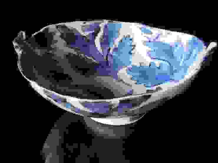青葉のうつわ: 古川 桜が手掛けた現代のです。,モダン 磁器