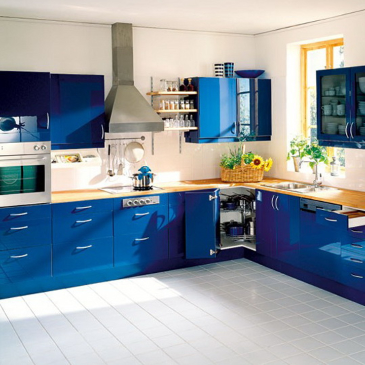 Interiorwalaa Modern style kitchen