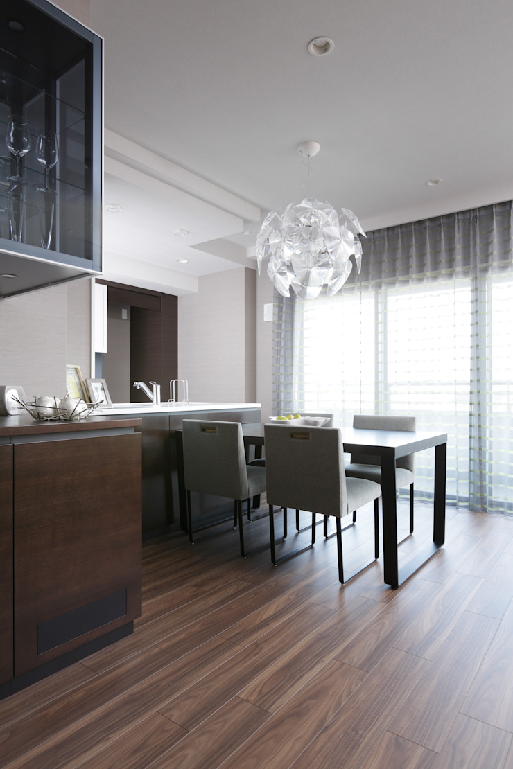 chiết trung  theo 株式会社Juju INTERIOR DESIGNS, Chiết trung