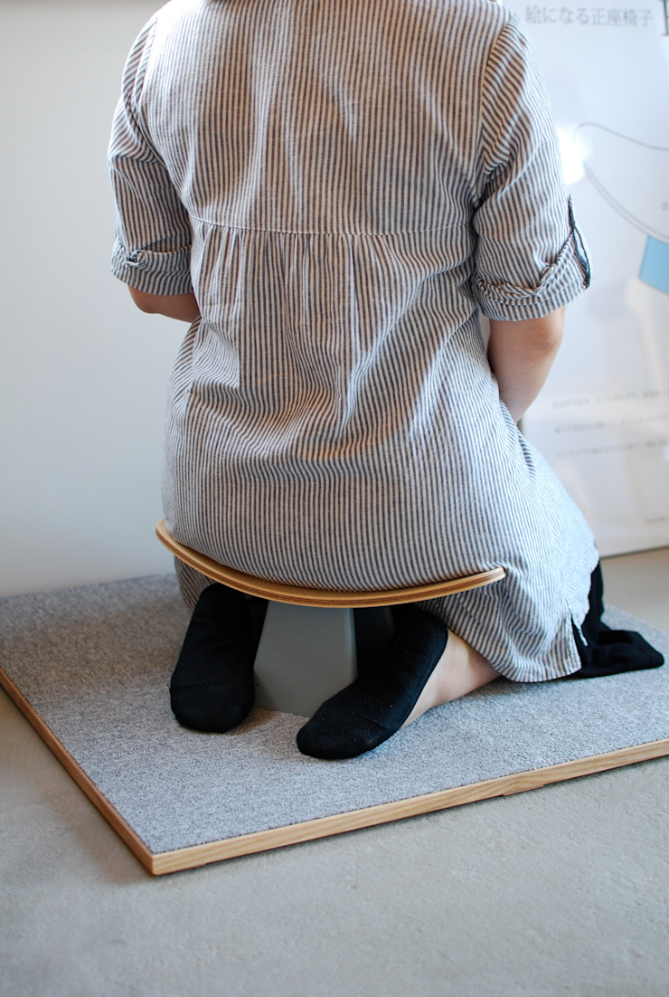 Ei Chair: Kalaftaが手掛けた折衷的なです。,オリジナル 木 木目調