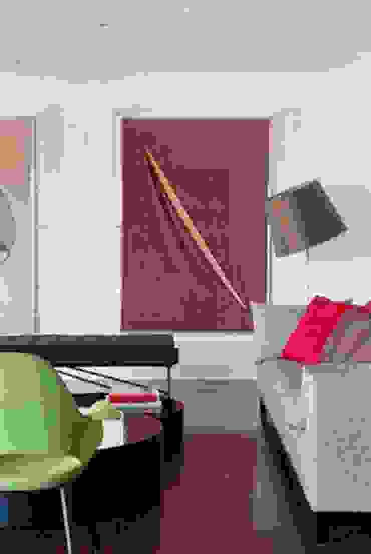 Apartamento Estrada da Gávea Salas de estar modernas por oficina p:ar - projetos de arquitetura Moderno