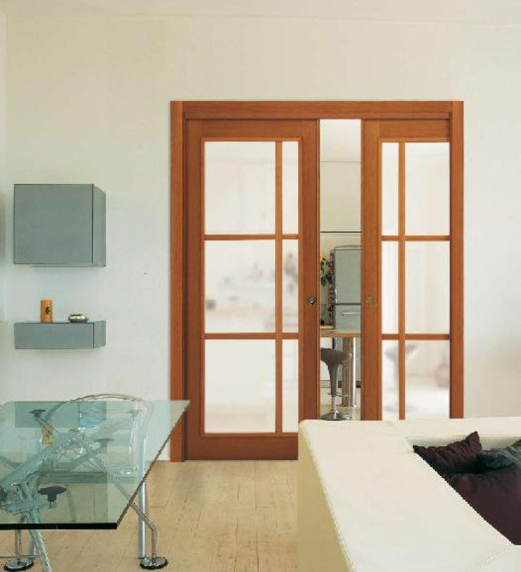 Interior doors and windows Fenêtres & Portes modernes par Commercium Globalis Moderne