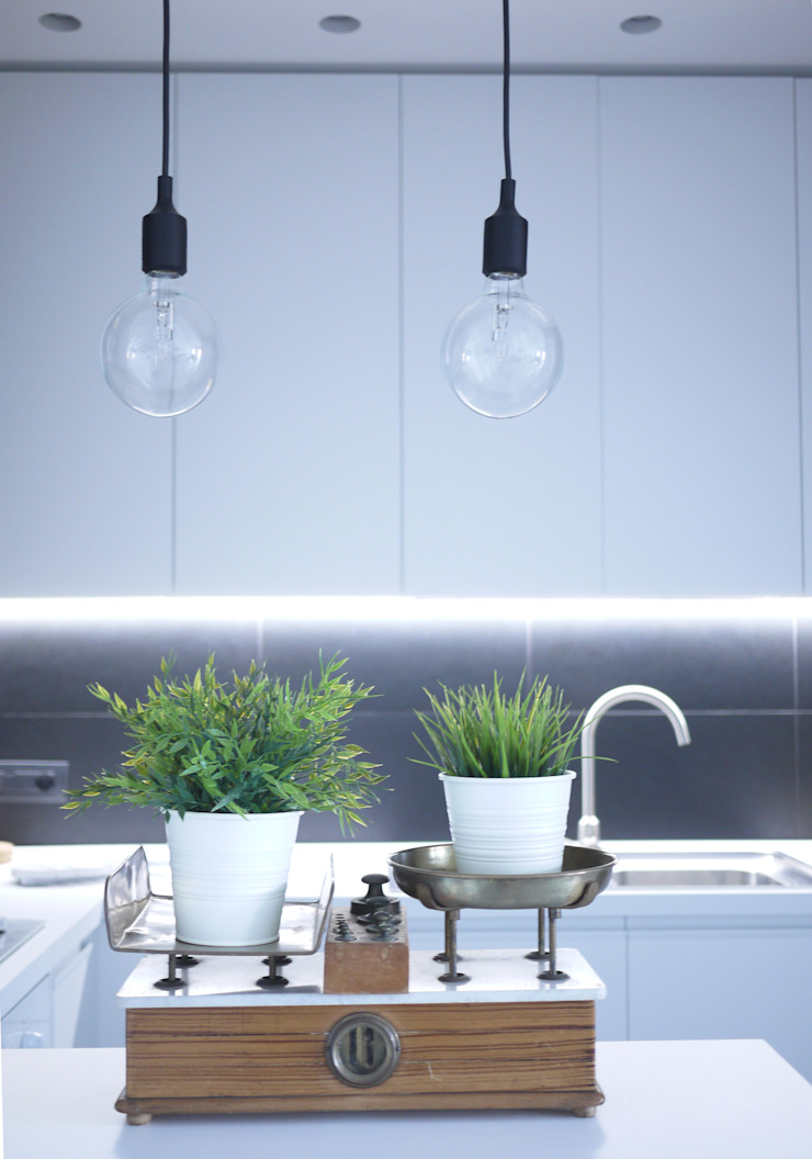 Industrial style kitchen by Giulia Brutto Architetto Industrial