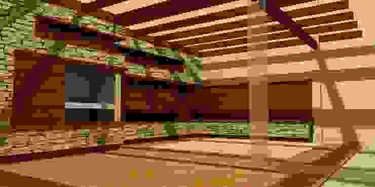 Diseño de interiores y exteriores de arquitectura gimenez