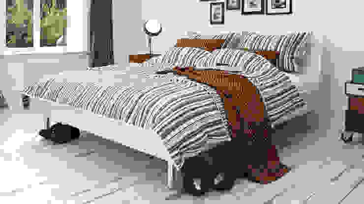 Bedroom in Stockholm - 2015 Dormitorios modernos: Ideas, imágenes y decoración de InOutSide Architecture and Design Moderno