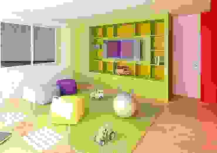 Modern nursery/kids room by unoenseis Estudio Modern