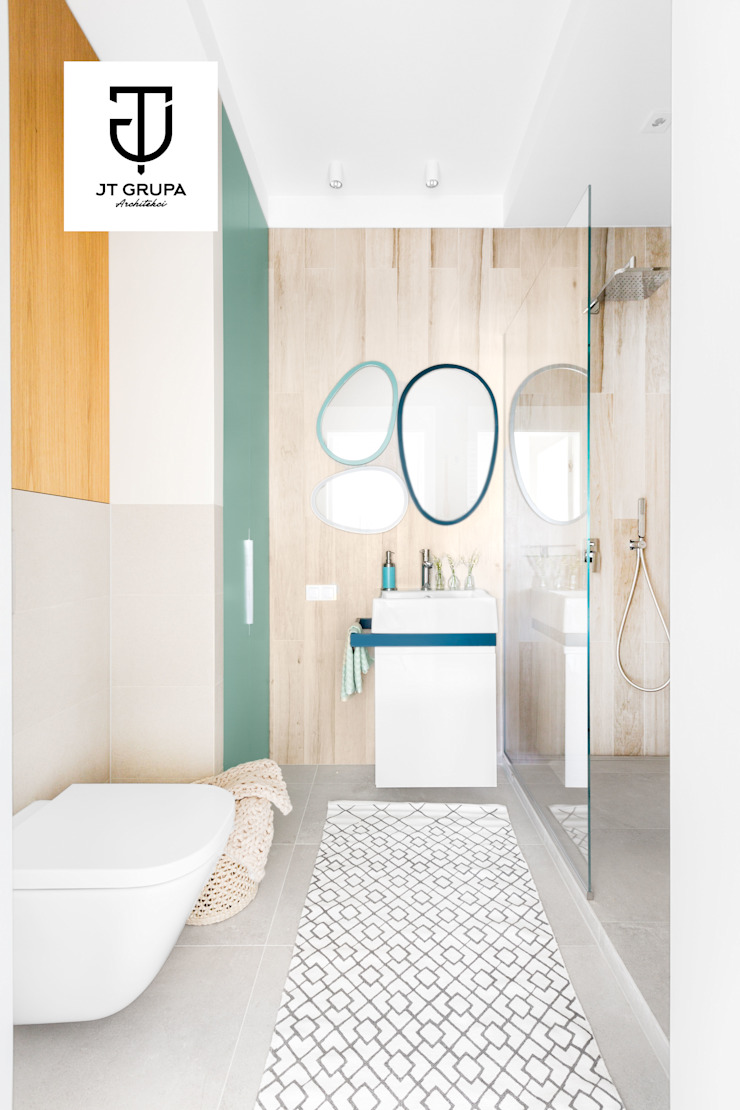 Scandinavian style bathroom by JT GRUPA Scandinavian