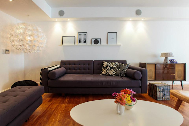Modern living room by Arq. Jazmin Zang Modern