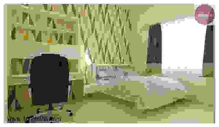 Dormitorios de estilo moderno de 100Krafts Moderno