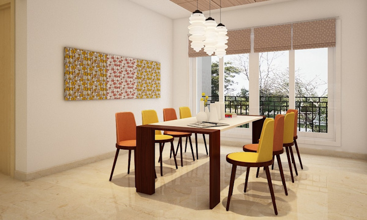 Dining Room Designs Modern dining room by design56 Modern