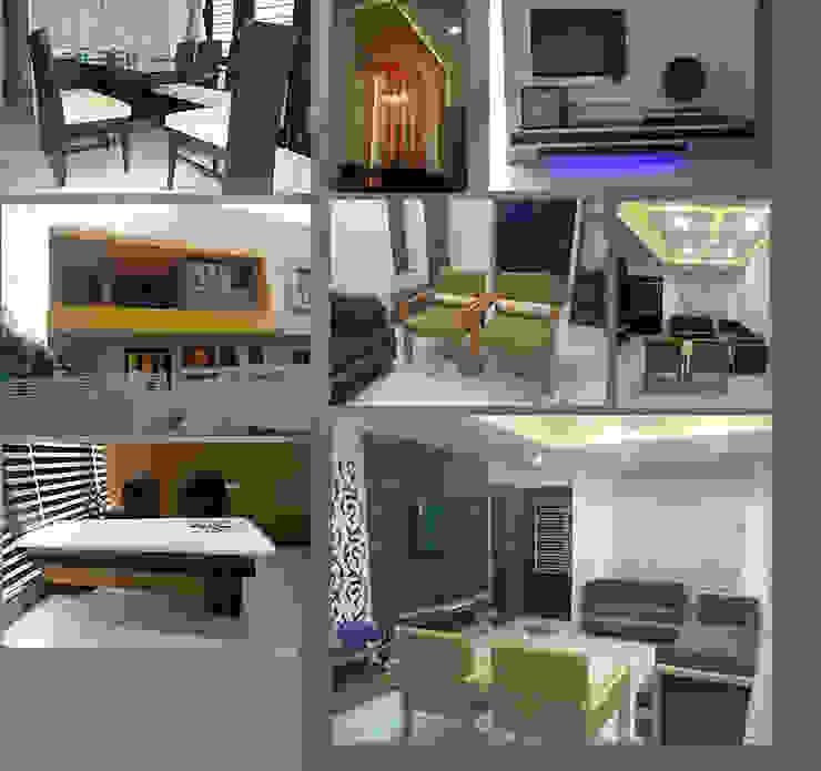 Interior Designs Modern living room by Riddhish Modern