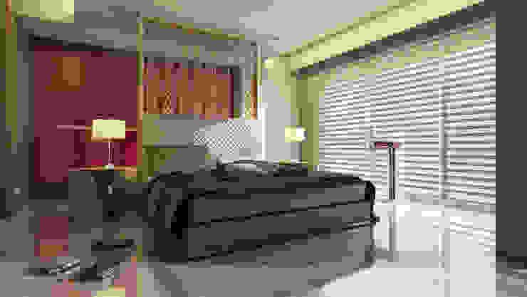 Spacious Designs Architects Pvt. Ltd. Modern Bedroom