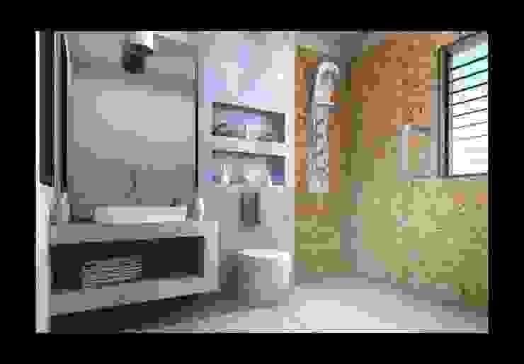 Interior designs Modern bathroom by Spacious Designs Architects Pvt. Ltd. Modern