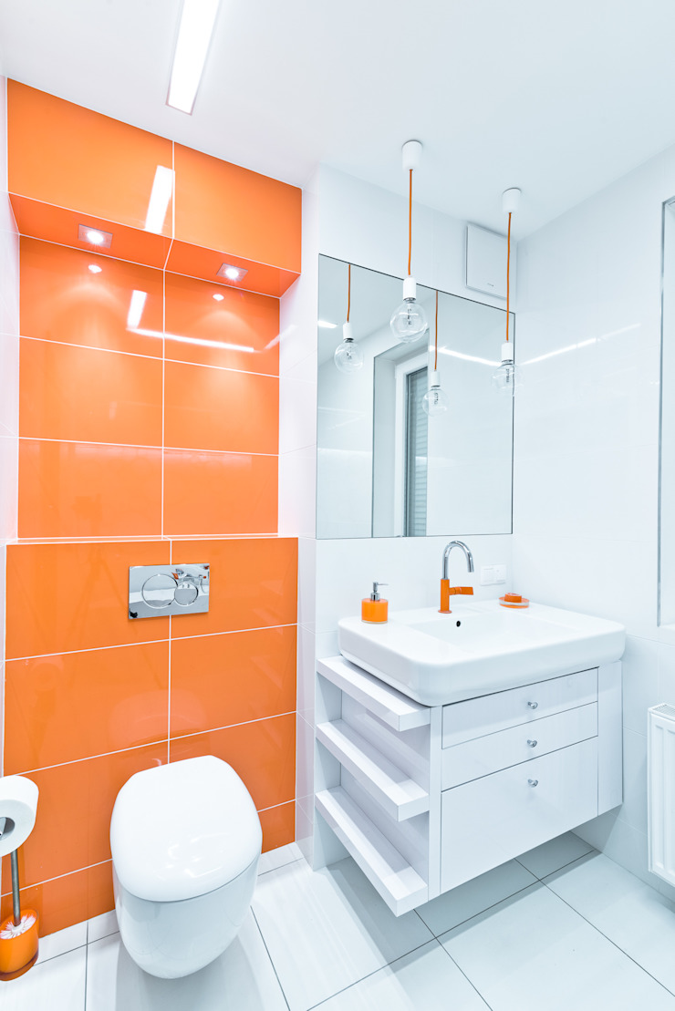 Raw Apartment Minimalistyczna łazienka od Fotografia Przemysław Turlej Minimalistyczny