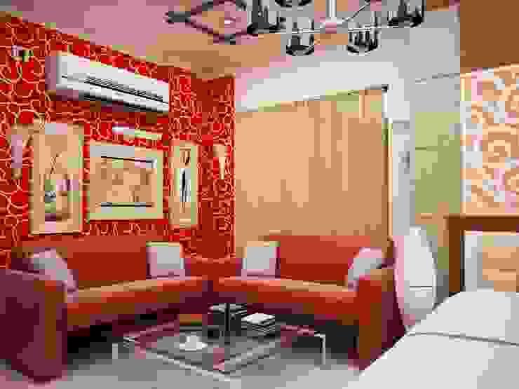 Interior Designs Modern style bedroom by amit.joshi Modern