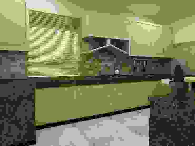 Interior Designs Modern kitchen by amit.joshi Modern