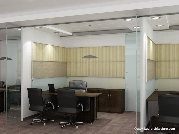 Modern style study/office by Kgd-architecture Modern
