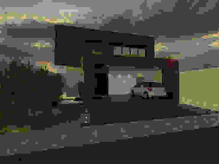Casa Corten Casas modernas por Ricardo Cavichioni Arquitetura Moderno