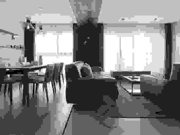 [HOME] Zinarea Interior Design 모던스타일 거실 by KD Panels 모던 우드 우드 그레인