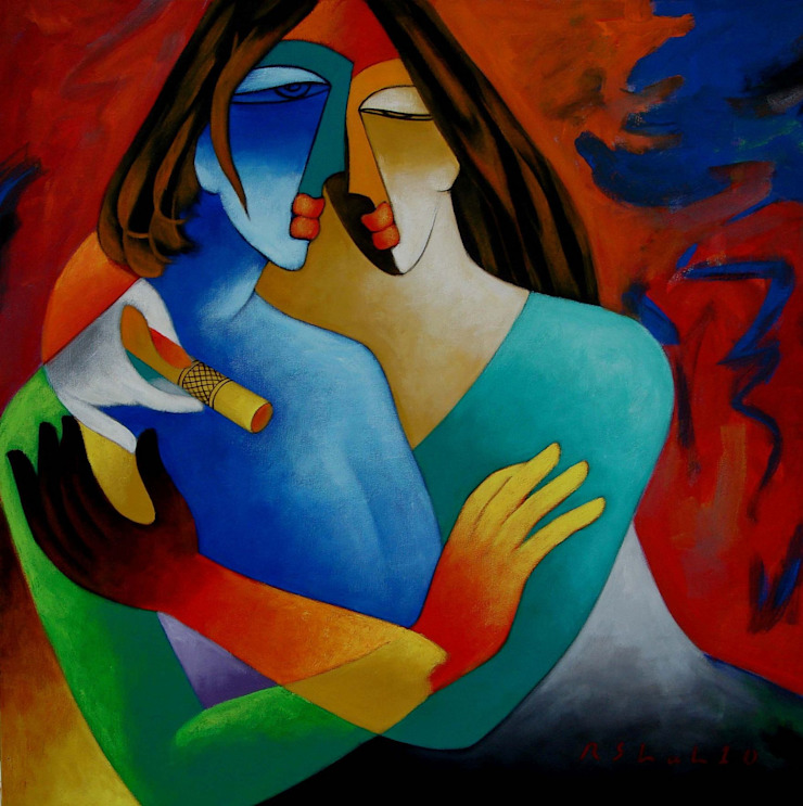 Lover - Made for each each other: modern  by Indian Art Ideas,Modern