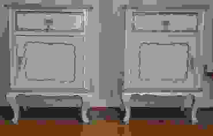 Mesas de cabeceira por House Repair2015