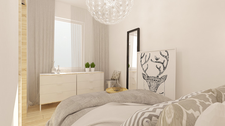 Chambre moderne par And Interior Design Moderne