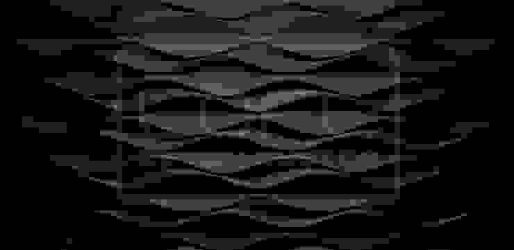 Panele Dekoracyjne 3D - Loft Design System - model Flow od Loft Design System Nowoczesny