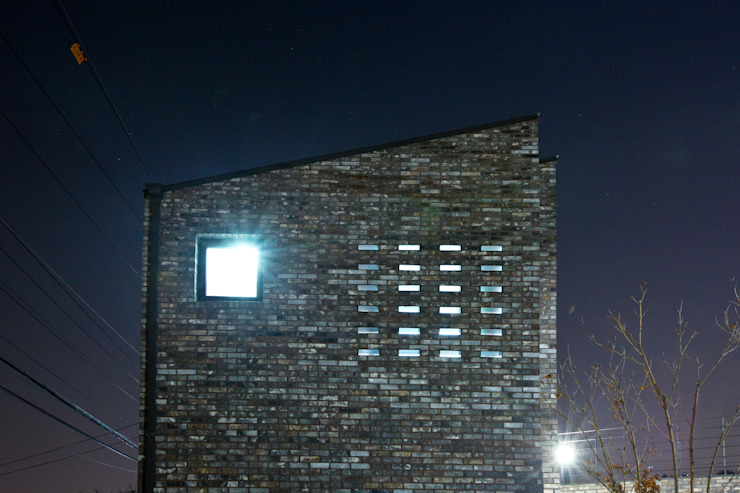 관산동 주택 모던스타일 주택 by GongGam Urban Architecture & Construction 모던