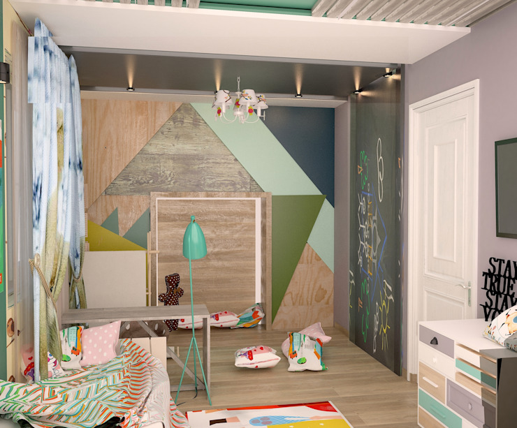 Nursery/kid's room by DS Fresco, Rustic
