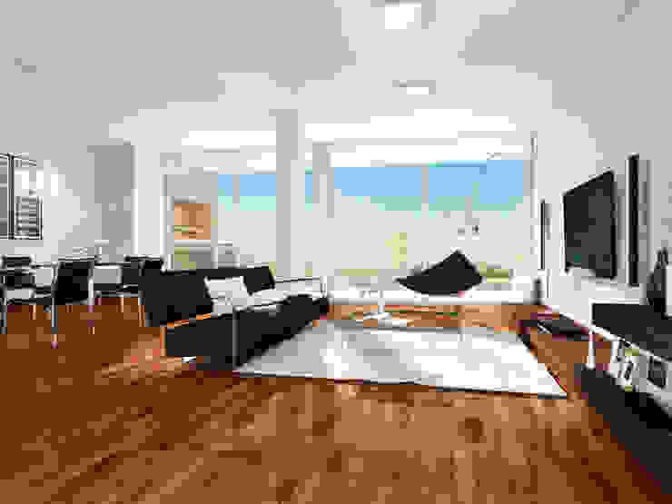 Modern living room by Mauricio Morra Arquitectos Modern