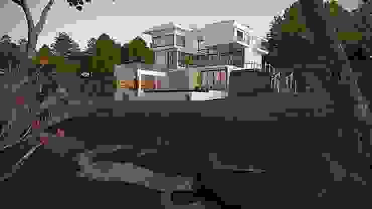 residência de campo Casas modernas por Carol Abumrad Arquitetura e Interiores Moderno Concreto