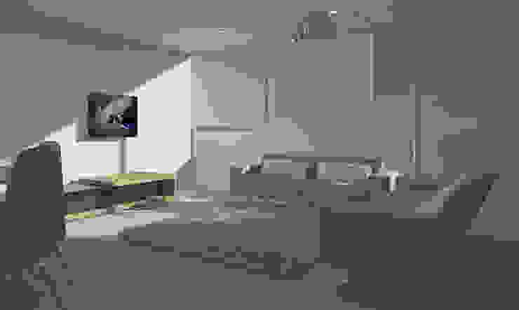 LIVING ROOM Salas de estar minimalistas por Minimal-Line Minimalista