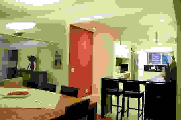 Apartamento Jardins Cozinhas ecléticas por Politi Matteo Arquitetura Eclético