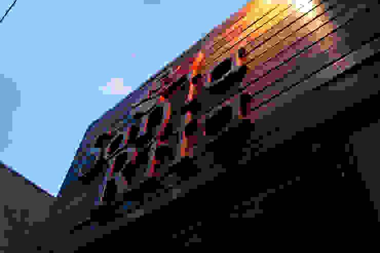 Restaurante Santa Rita Espaços gastronômicos rústicos por Politi Matteo Arquitetura Rústico