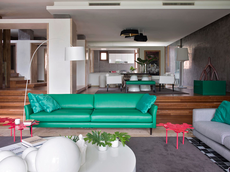 Living room by SA&V - SAARANHA&VASCONCELOS,