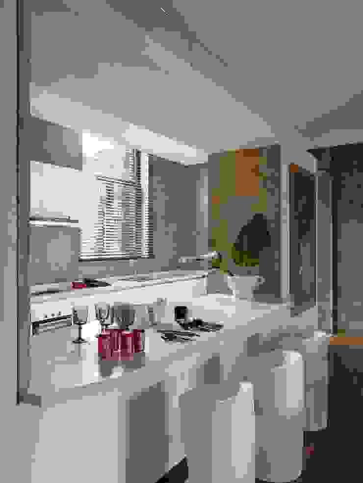 ARTFUL COLOR Cozinhas modernas por SA&V - SAARANHA&VASCONCELOS Moderno