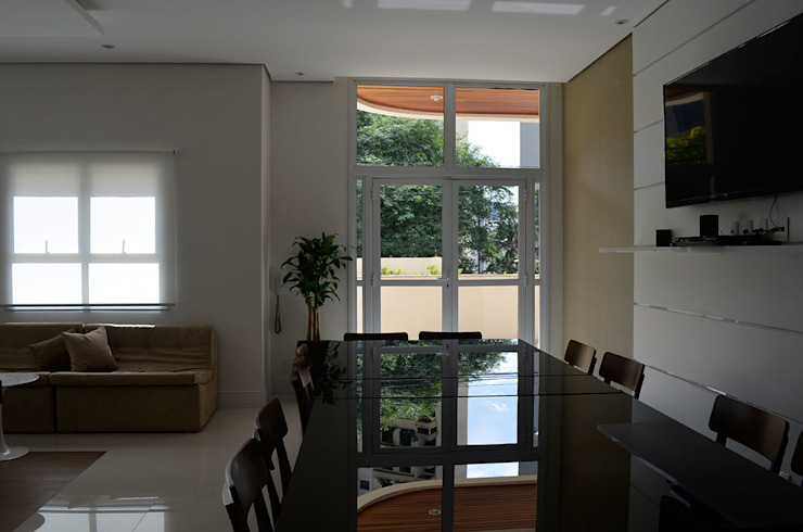 Salão de Festas – Edif. Residencial. Salas de estar modernas por MEM Arquitetura Moderno