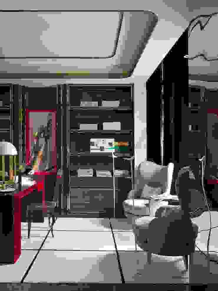 SA&V - SAARANHA&VASCONCELOS Oficinas de estilo ecléctico