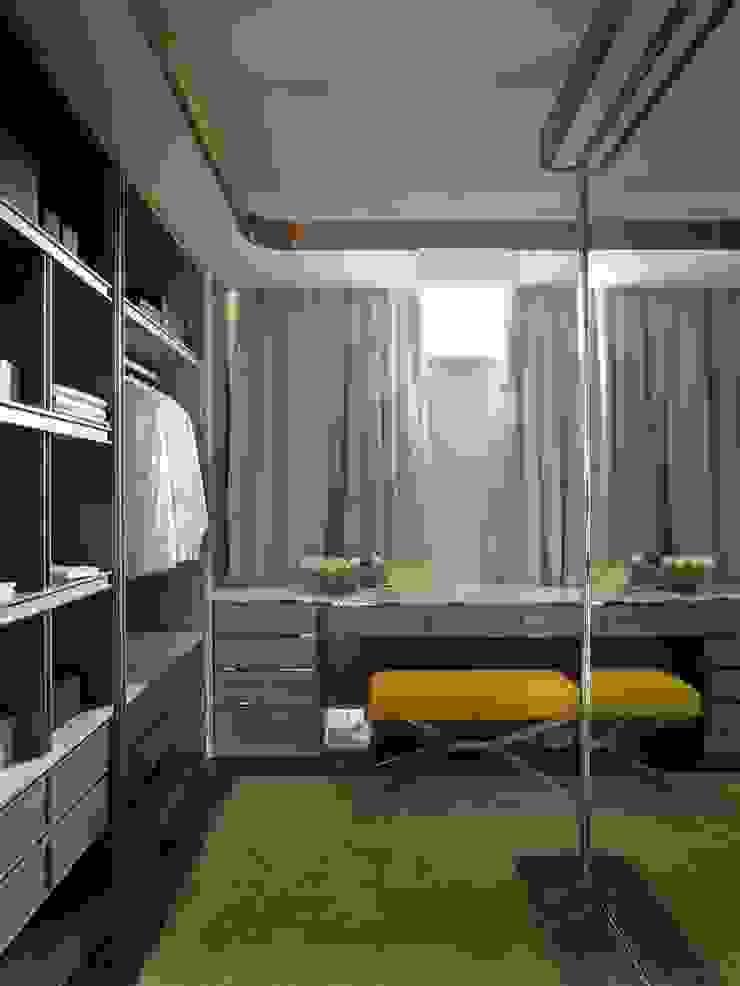 SA&V - SAARANHA&VASCONCELOS Closets de estilo ecléctico