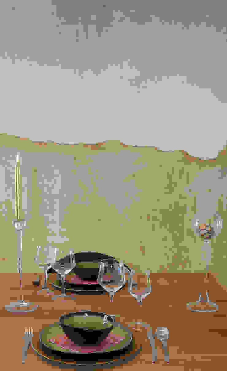 zwaar rustieke fermette wordt luchtig en strak Moderne eetkamers van Sfeerontwerp Modern