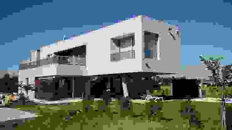 Barandas en vidrio- Detalles Casas estilo moderno: ideas, arquitectura e imágenes de homify Moderno