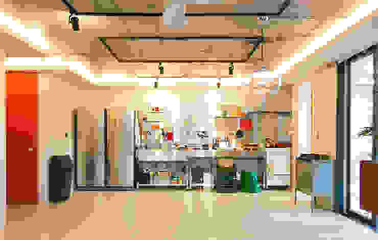 mia house: 씨즈 아틀리에의  주방,모던