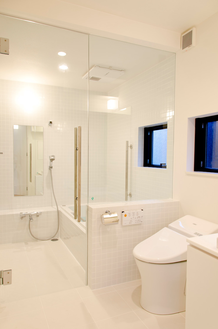 atami house 모던스타일 욕실 by 씨즈 아틀리에 모던